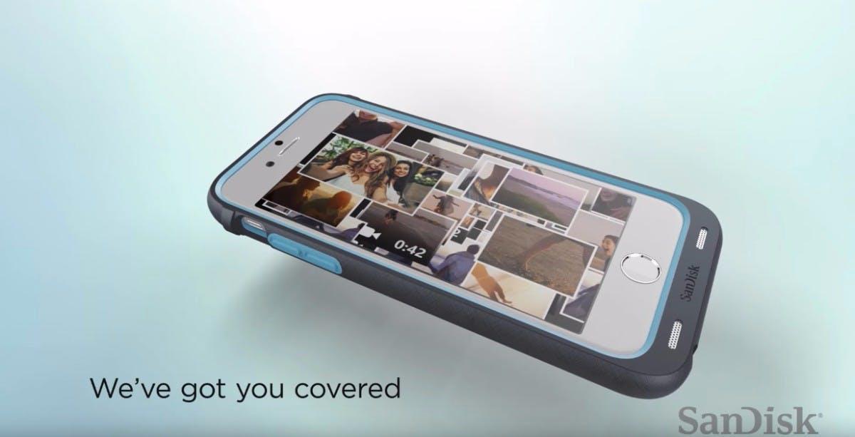 Mehr Speicher für euer iPhone: Diese Schutzhülle hat bis zu 128 GB an Bord