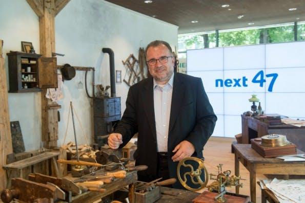 Technikvorstand Siegfried Russwurm wird die Siemens-Startup-Schmiede Next47 kommissarisch leiten. (Foto: Siemens)