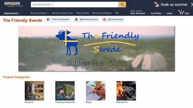 The Friendly Swede: Der Lehrer, der auf Amazon 8 Millionen Euro Umsatz im Jahr macht