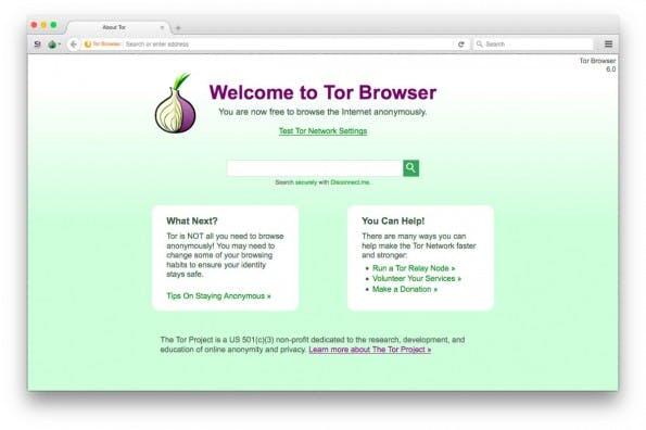 Der Tor Browser steht in Version 6.0 zum Download bereit. (Screenshot: Tor Browser 6.0)
