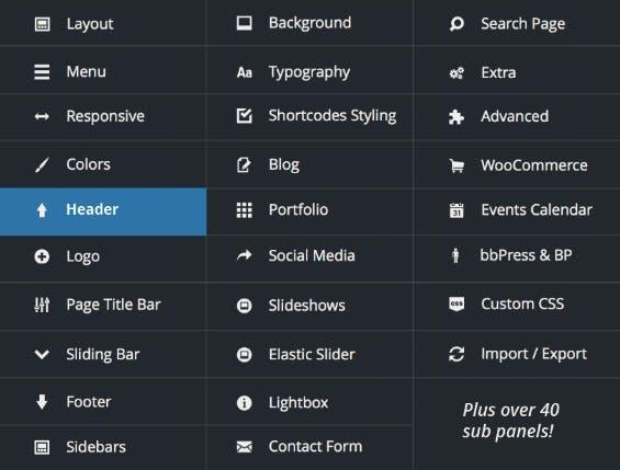 Wenn ihr ein WordPress-Theme kaufen wollt, solltet ihr nicht nur nach dem Funktionsumfang des Themes gehen. Inhalte, die mit Theme-Funktionen erstellt wurden, gehen nach einem Theme-Wechsel verloren. (Screenshot: http://avada.theme-fusion.com)