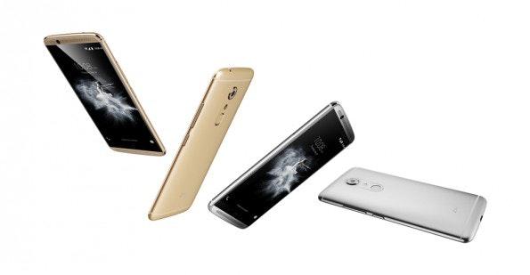 Das ZTE Axon 7 erhält Android Nougat sicher. (Bild: ZTE)