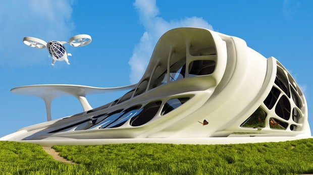Pizza per Drohne und Organe aus dem Drucker: Wie sich Amerikaner das Jahr 2036 vorstellen