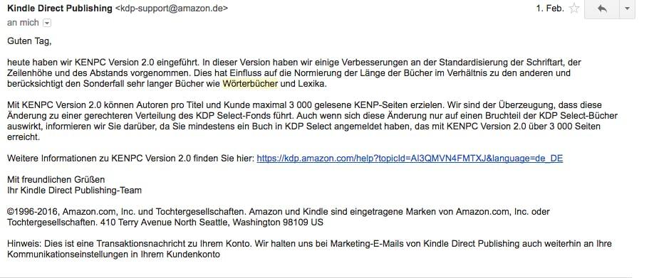 Amazon KENP 3000