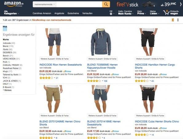 Meinemarkenmode.de äußert sich sehr zufrieden zum Amazon-Prime-Day 2016. (Screenshot: Amazon)