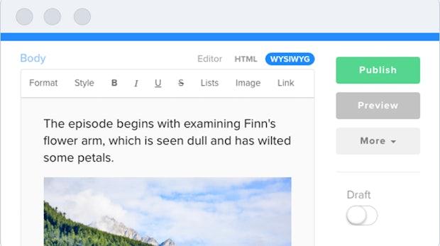 Forestry.io: Einfaches Cloud-CMS für statische Jekyll-Webseiten