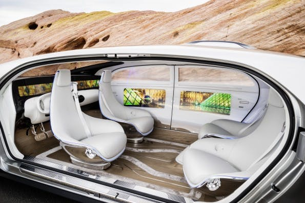 Mercedes-Benz F 015 Luxury in Motion. (Foto: Mercedes)