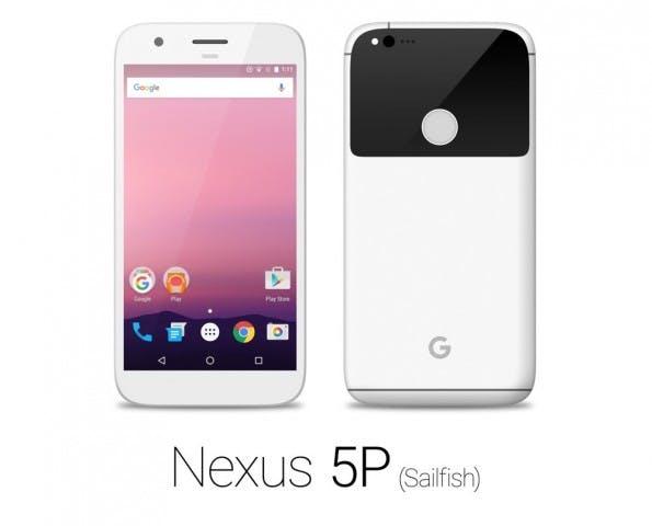 """Mockup: So könnte das Nexus 5P (2016) in Weiß aussehen. (Bild: <a href=""""https://www.reddit.com/r/Android/comments/4rtv23/leaked_nexus_in_four_colors/"""">reddit</a>)"""