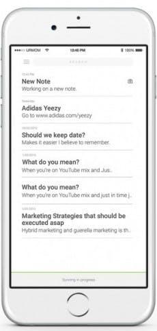 Notiz-App Buno soll mit schickem Design und Sicherheit überzeugen. (Bild: Buno)