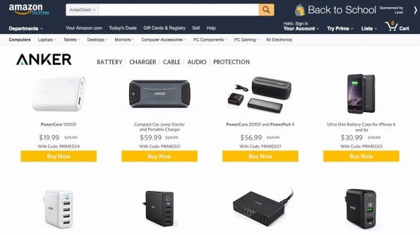 (Screenshot: Amazon.com Montage: t3n)