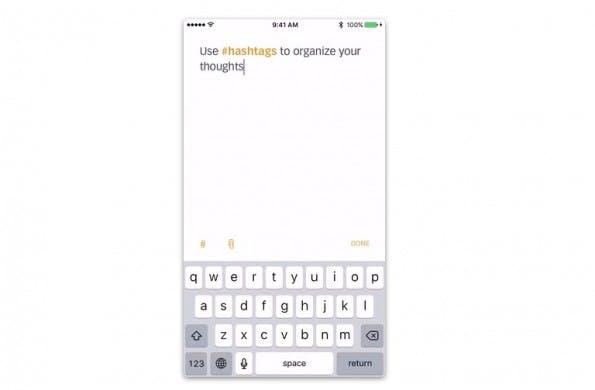 Notiz-App: Better Notes organisiert eure Notizen mittels Hashtags. (Screenshot: Better Notes)