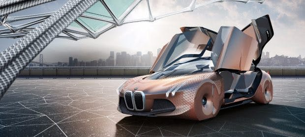 Vision: Next 100 – so könnten nach BMWs Vorstellung die Autos der Zukunft aussehen.(Bild: BMW)