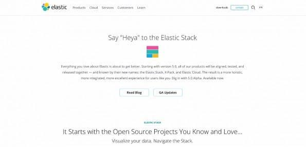 Der BR nutzt Elastic Stack. (Screenshot: Elastic Stack)
