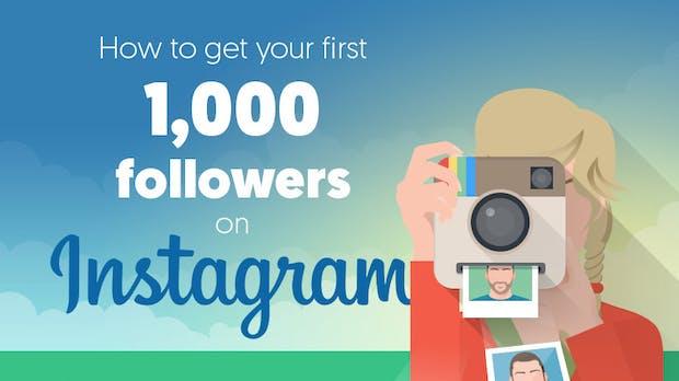 Erfolgreich auf Instagram: So sammelt ihr die ersten 1.000 Follower [Infografik]