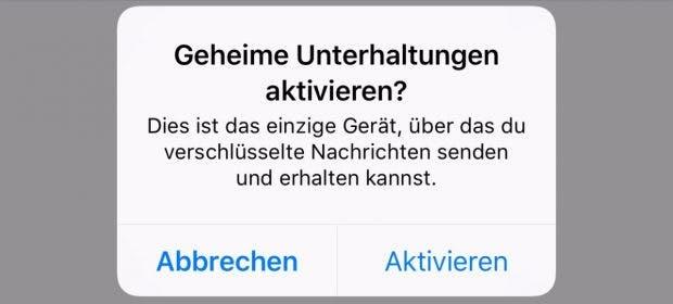 Falls euch die Funktion noch nicht angezeigt wird, kann ein Neustart der App helfen. (Screenshot: t3n)