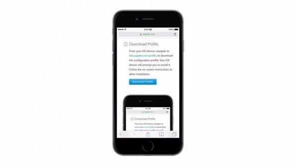 Um die Public Beta von iOS 10 auf dem iPhone oder iPad zu installieren, müsst ihr ein entsprechendes Profil aktivieren. (Bild: Apple)