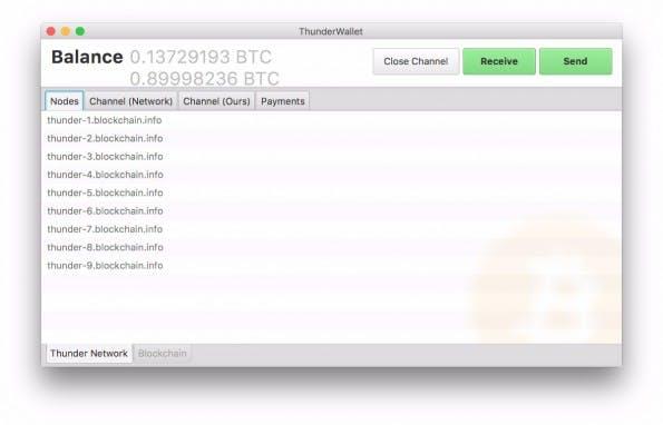 Lightning-Network: Mehrere Teams arbeiten an der Umsetzung der Idee. (Screenshot: Github / Blockchain)