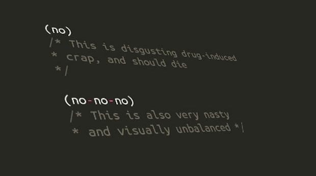 """Linux-Erfinder Linus Torvalds schimpft über """"hirnverbrannte Kommentar-Syntax"""""""