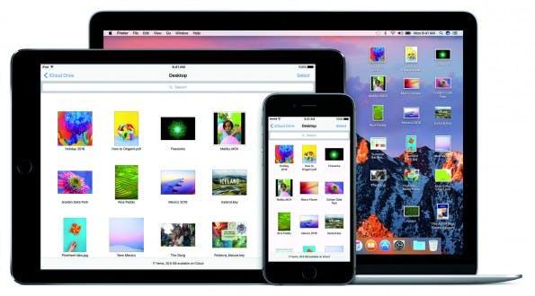 Die Speicherverwaltung in macOS Sierra setzt stark auf iCloud. (Foto: Apple)