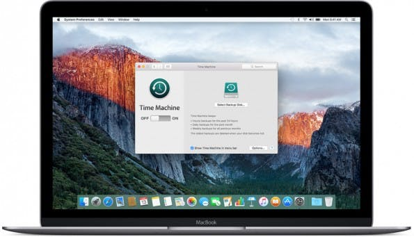 Vor dem Update auf die Public Beta von macOS Sierra solltet ihr euer System sichern. (Bild: Apple)
