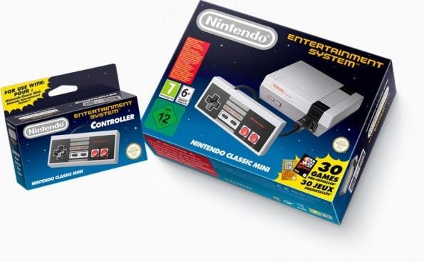 Nintendo Classic Mini ist ein Mini-NES für Retro-Fans. (Foto: Nintendo)
