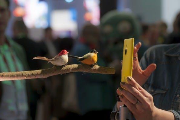 Zuletzt typisch für Nokia-Smartphones: die bunte Farbpalette. (Foto: Ivan Garcia / Shutterstock.com)