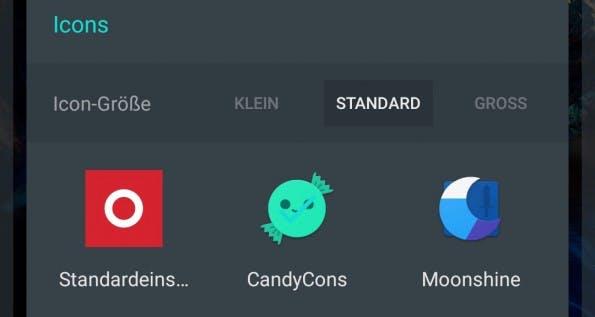 Euch gefallen die Standard-Icons nicht? Kein Problem: OxygenOS 3 unterstützt das schnelle Austauschen der Icon-Packs. (Bild: t3n)