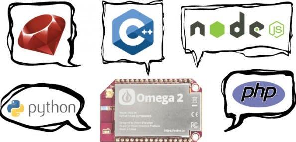 Entwicklerboard: Omega2 setzt auf Linux und lässt euch die Wahl, womit ihr dafür Software entwickeln wollt. (Grafik: Onion)