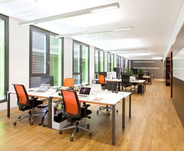 Das Büro von Paymill in München. (Foto: Office4you)