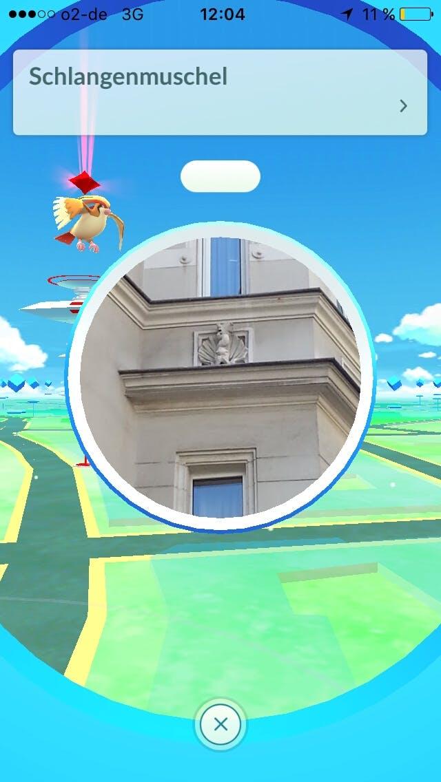 (Screenshot: Pokemon Go / t3n.de)
