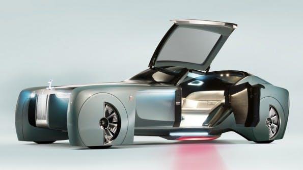 Rolls Royce Vision Next 100. (Bild: Rolls Royce))