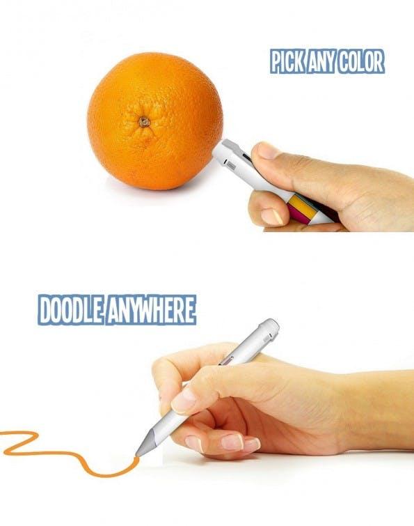 Scribble Pen: Die Version aus 2014 wirkt noch weitaus schlanker als die aktuelle. (Bild: Scribble Press Kit)