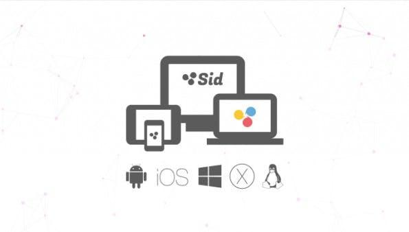 Die HipChat- und Slack-Alternative Sid ist auf allen wichtigen Plattformen vertreten. (Screenshot: sid.co)