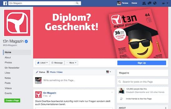 Neues Facebook-Seiten-Design veröffentlicht: Das musst du darüber wissen