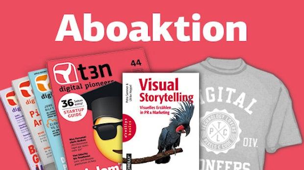 "Bild schlägt Text: t3n-Abo inklusive O'Reilly-Buch ""Visual Storytelling"""