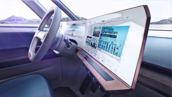 Design-Studie: VW Buddy-E. (Bild: Volkswagen)