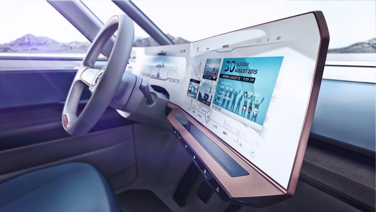 Studie: VW Budd-E. (Bild: Volkswagen)