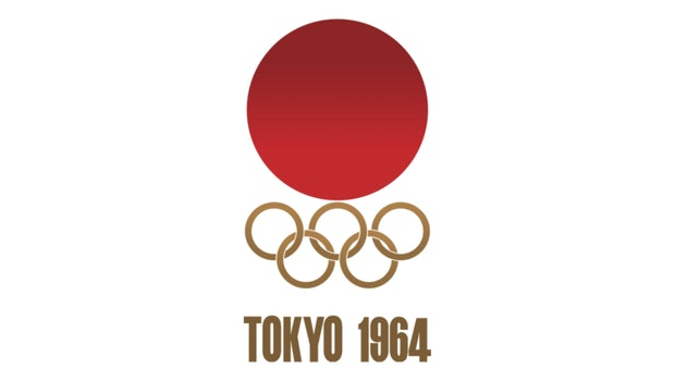 """Platz eins: Tokio 1964 mit 92 von 100 Punkten: """"Passend designt ohne irgendwelche Verwirrungen. Alles passt perfekt!"""" (Logo: Olympic.org)"""