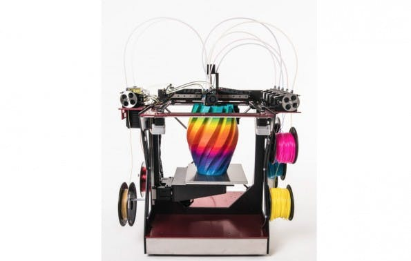 RoVa4D: Dieser 3D-Drucker druckt alle Farben. (Bild: ORD Solutions/Kickstarter)
