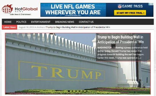 Hot Global News Screen