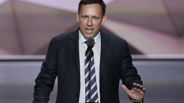 Peter Thiel investiert in Startup, das Firmen automatisch verklagt