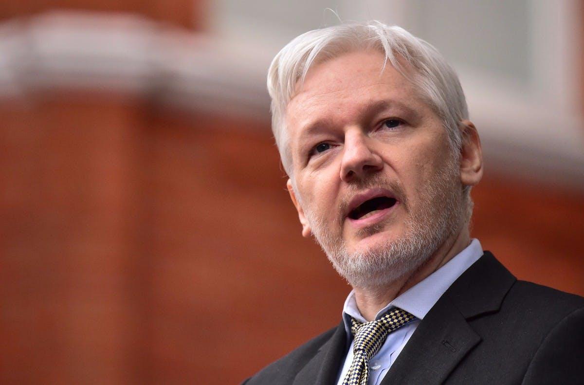 Julian Assange: Wikileaks-Gründer in London festgenommen