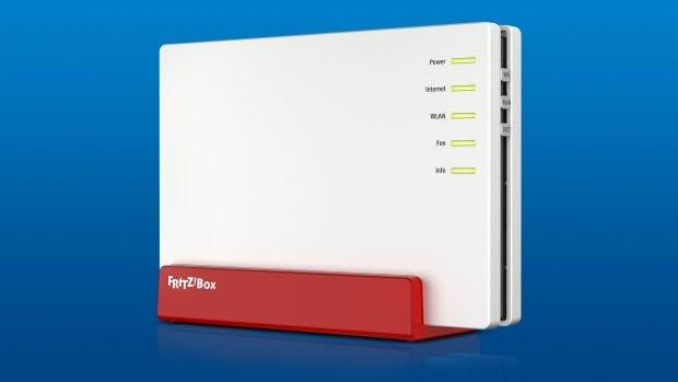 Die neue AVM Fritzbox 7580 verspricht Rekord-Geschwindigkeiten beim WLAN. (Quelle: AVM)