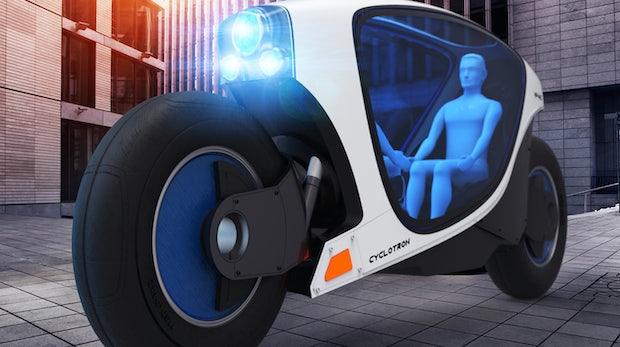 Schicke Designstudie: Ist dieses selbstfahrende E-Bike das Taxi von morgen?