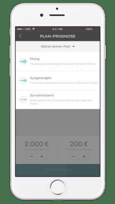 Mit N26 Invest können Smartphone-Nutzer ihr Geld anlegen. Die Konditionen sind jedoch nicht fair. (Bild: N26)