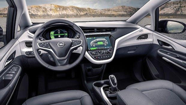 Das Cockpit des neuen Opel Ampera-E. (Foto: Opel)