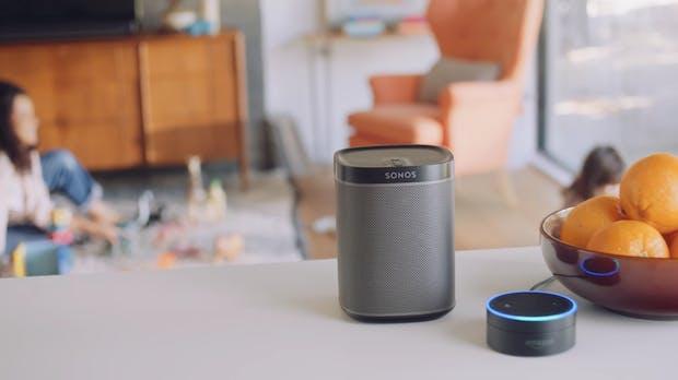 Sonos öffnet sich: Steuerung über Spotify-App und Amazons Sprachassistent Alexa kommt