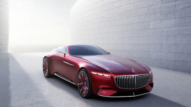 Vision Mercedes-Maybach 6: Ein Elektro-Batmobil mit 500 Kilometern Reichweite
