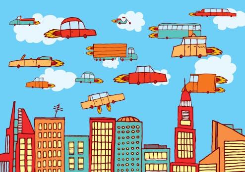 Fliegende Taxis: Airbus will erste Modelle schon 2017 testen