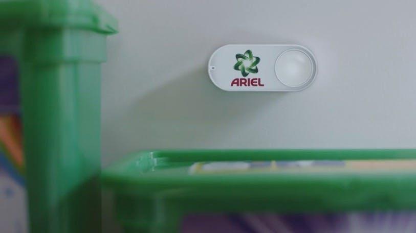 Der Dash Button. Eines von vielen gescheiterten Amazon-Produkten. (Foto: Amazon)